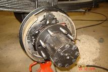1997 Ford F350 has complete brake component replacement.