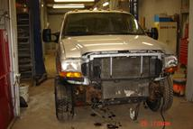 Southern Truck is starting on this 2000 Ford Superduty Crew Cab restoration.