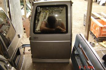 Chevy Astro Van Left Cargo Door on 1996 Chevy Astro Van