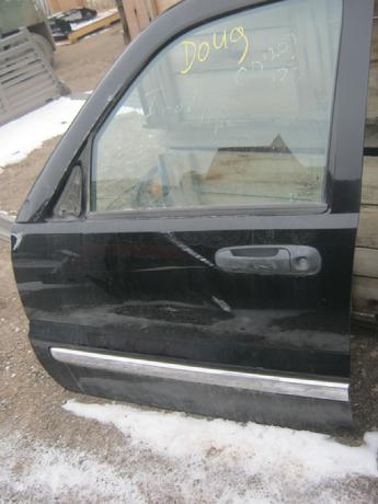 2002 2003 2004 2005 2006 Jeep Liberty drivers side front power door.  Door has some dents on the front by the hinge.  No inner door panel.  Reference inventory #10816 when inquiring.