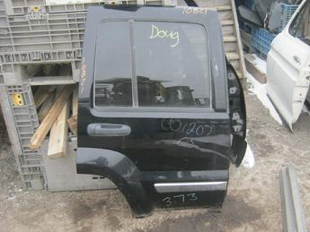 2002 2003 2004 2005 2006 Jeep Liberty passenger side rear power door.  Great overall condition, one small dent by hinge, glass is intact.  Reference inventory #10821 when inquiring.