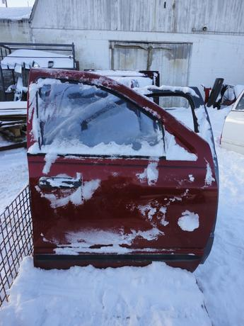 02-09 DODGE NON QUAD DOOR, POWER, NO INSIDE PANEL. GOOD CONDITION, SCUFFS AND SCRATCHES. #13299