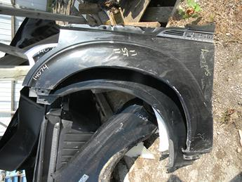 2011 2012 2013 2014 2015 2016 FORD SUPER DUTY DRIVERS FRONT FENDER. ROUGH CONDITION- DINGS AND DENTS, RUST FREE. #14074