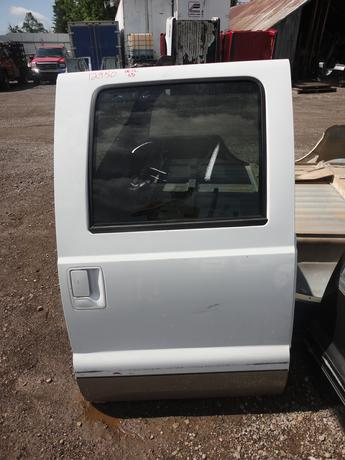 08-12 Ford Superduty Right Rear Crew Cab Door. Reference inventory number #12950 when inquiring