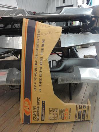 1997 1998 1999 2000 2001 2002 2003 FORD AFTERMARKET FRONT RIGHT FENDER. INVENTORY #13030