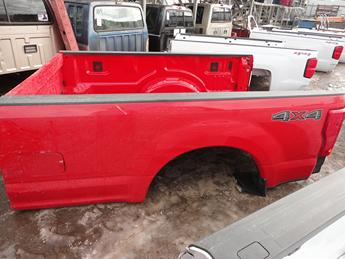 2017 2018 FORD SUPER DUTY LONG BOX NEW TAKE OFF BED. #13701