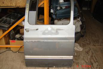 73 - 91 Chevrolet Suburban Right Side OEM Secondary Power Door.   Very good condition,  Grey in color.