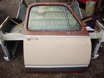 1981 1982 1983 1984 1985 1986 1987 1988 1989 1990 1991 1992 1993 Dodge rust free passenger side power front door.  No inner door panel, glass intact, some scratches in the paint.  Reference inventory #11058 when inquiring.