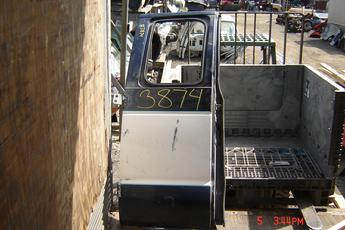 92 - 02 Ford Fullsize Van 40% Right Side Door.  Door is in good condition, no glass intact.  Blue/white exterior.