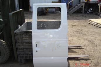 92 - 02 Ford Clubwagon Secondary right door shell.  Excellent condition.  No glass, no hardware.  White exterior.