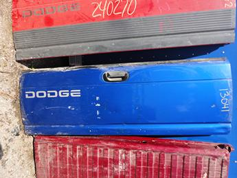 1994 1995 1996 1997 1998 1999 2000 2001 DODGE TAILGATE FROM MICHIGAN. GOOD CONDITION, SCUFFS AND SCRATCHES, DENT ON THE RIGHT SIDE, INVENTORY #13041