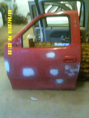1997 1998 1999 2000 2001 2002 2003 Ford F150 passenger side power door.  Some body work already done on door.  No inner door panel.  Inventory #12801.