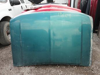 97-03 FORD F150 HOOD FROM MICHIGAN. GOOD CONDITION, LITTLE RUST ON THE LATCHES UNDERNEATH, SMALL SCATTERED DINGS. #13124