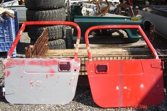 Southern Truck in Imlay City, Michigan has a pair of Jeep TJ rust free full steel doors for models Jeep Wrangler models 1997 1998 1999 2000 2001 2002 2003 2004 2005 2006.