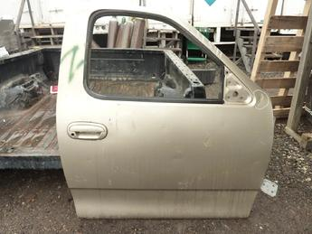 1999 2000 2001 2002 2003 Ford F150 passenger side partially complete door with glass and handles, no latches and some other hardware.  Upper rear corner damaged, dent on upper front, some scratches in paint.  Inventory #11541.