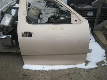 1999 2000 2001 2002 2003 Ford F150 passenger side front manual door with no glass or inner door panel.  Couple of small dents.  Reference inventory #10825 when inquiring.