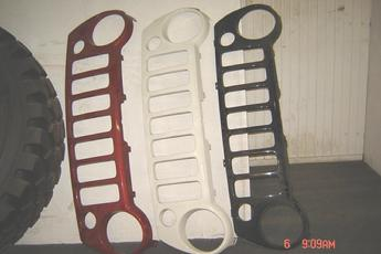 2002 2003 2004 Jeep Liberty Grille Shells are in inventory at Southern-Truck. Southern Truck sells rust free truck parts for GM, Chevrolet, GMC, Chevy, Ford, Nissan, Dodge, Mazda and Jeep Liberty Grille Shells