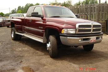 2001 Dodge Ram Dually Restoration