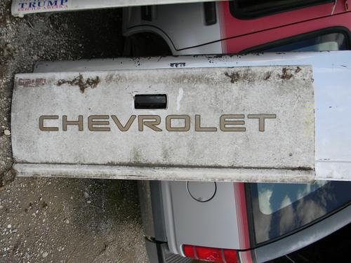 1982 1983 1984 1985 1986 1987 1988 1989 1990 1991 1992 1993 CHEVY S10 TAILGATE RUST FREEE. GREAT CONDITION- FEW SMALL DINGS. #14434